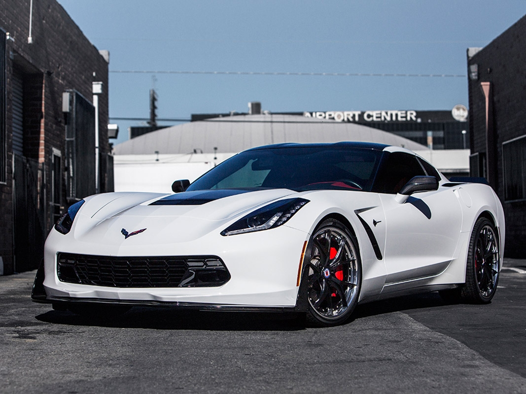 Chevrolet Corvette C7 with HRE S101