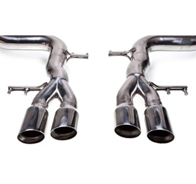 Tubi Style Ferrari 599 Tube Only Exhaust System