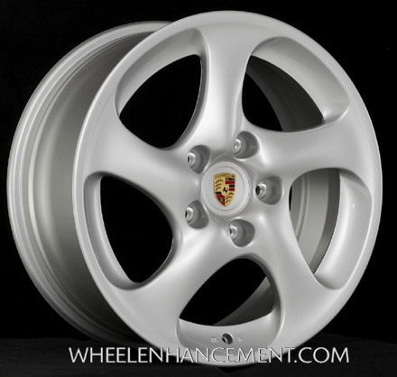 Porsche 996 Turbo wheel