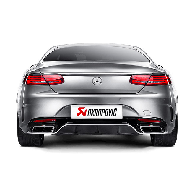 Akrapovic Evoltuion Link Pipe Set Mercedes-AMG S 63 Coupe (C217)