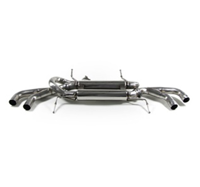 Tubi Style Nissan GTR Stainless Exhaust System