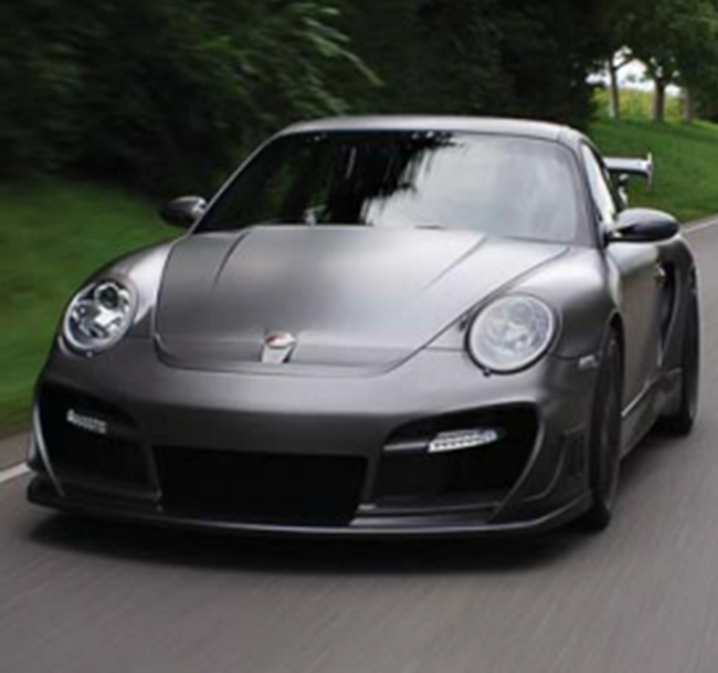 TECHART Aerokit GTstreet R for Porsche 911 (997) Turbo/S