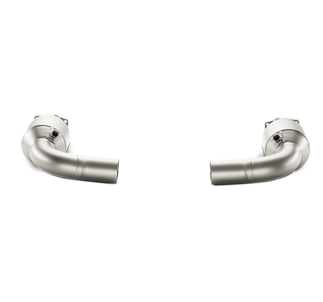Akrapovic Link Pipe Set Porsche 911 Turbo/Turbo S (991)