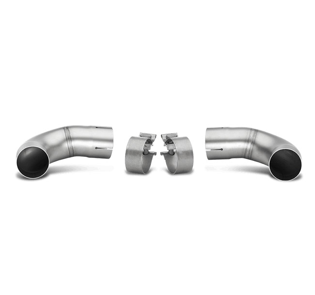Akrapovic Link Pipe Set (fits stock exhaust, SS) Volkswagen Golf (VI) GTI