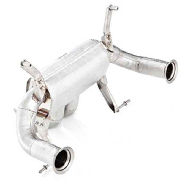 Tubi Style Lamborghini Aventador LP-700 Exhaust System (with valves)