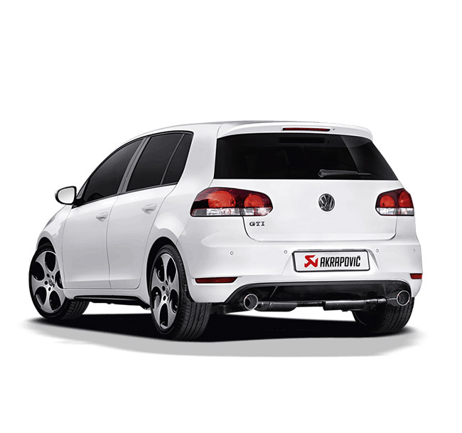 Akrapovic Slip-On (SS) Volkswagen Golf (VI) GTD/GTI/TSI