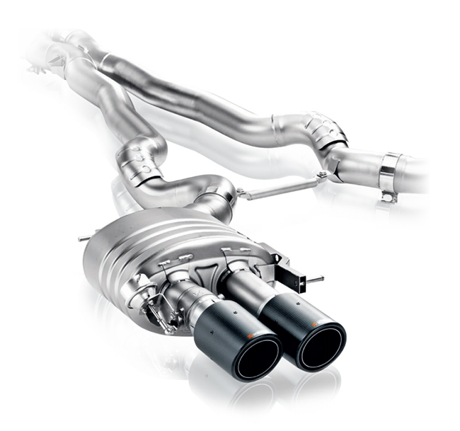 Akrapovic Evolution (Titanium) BMW M6 Gran Coupe (F06)