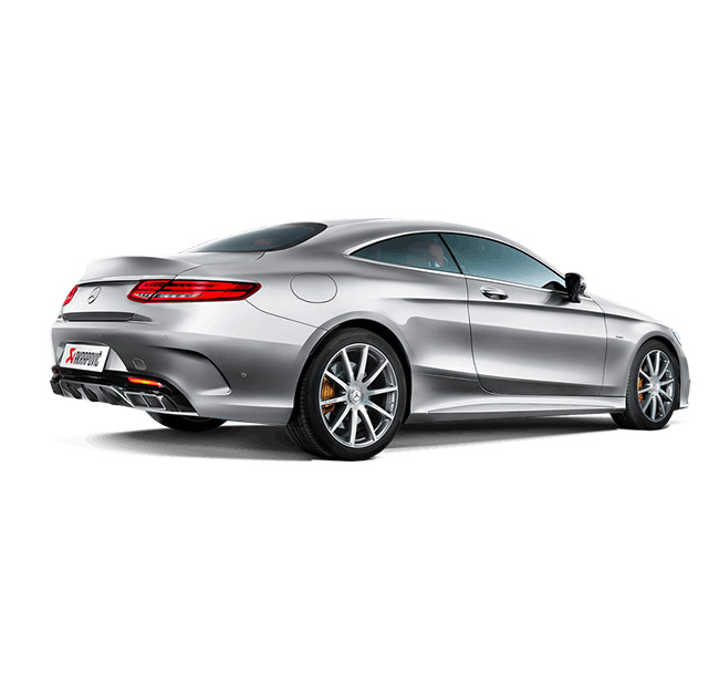 Akrapovic Evolution (Titanium) Mercedes-AMG S 63 Coupe (C217)