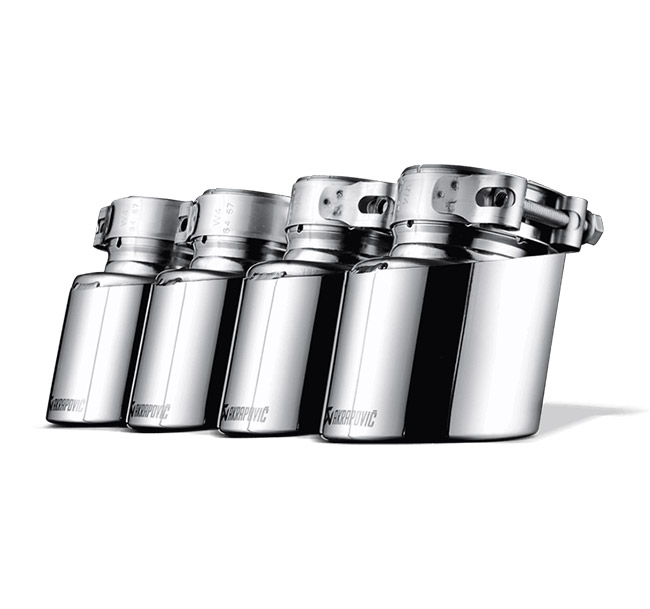 Akrapovic Tail Pipe Set (Titanium) BMW X5 M (E70) X6 M (E71)