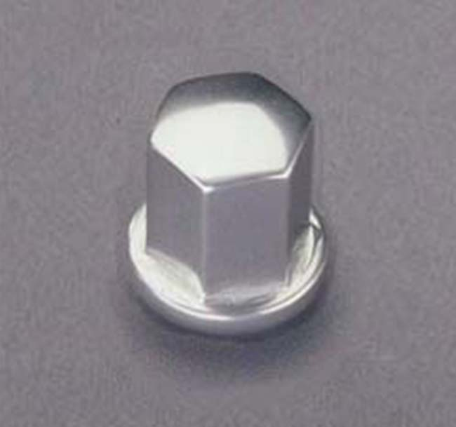 Porsche Lug Nut, Clear Anodized