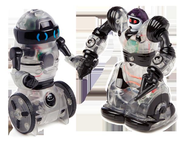 RC Mini Build Up Robots