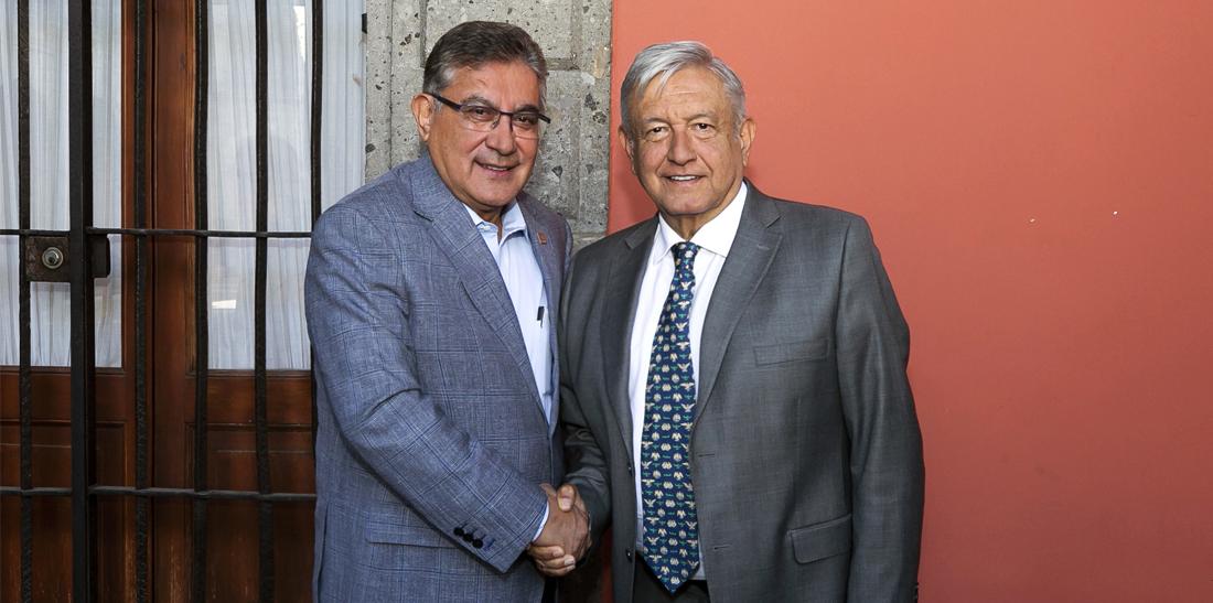 Acuerdos entre el SNTE y el Presidente de la República