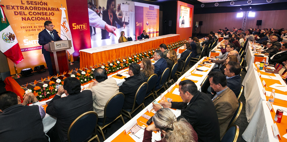 El SNTE publicará el reglamento aprobado para la elección de directivas seccionales