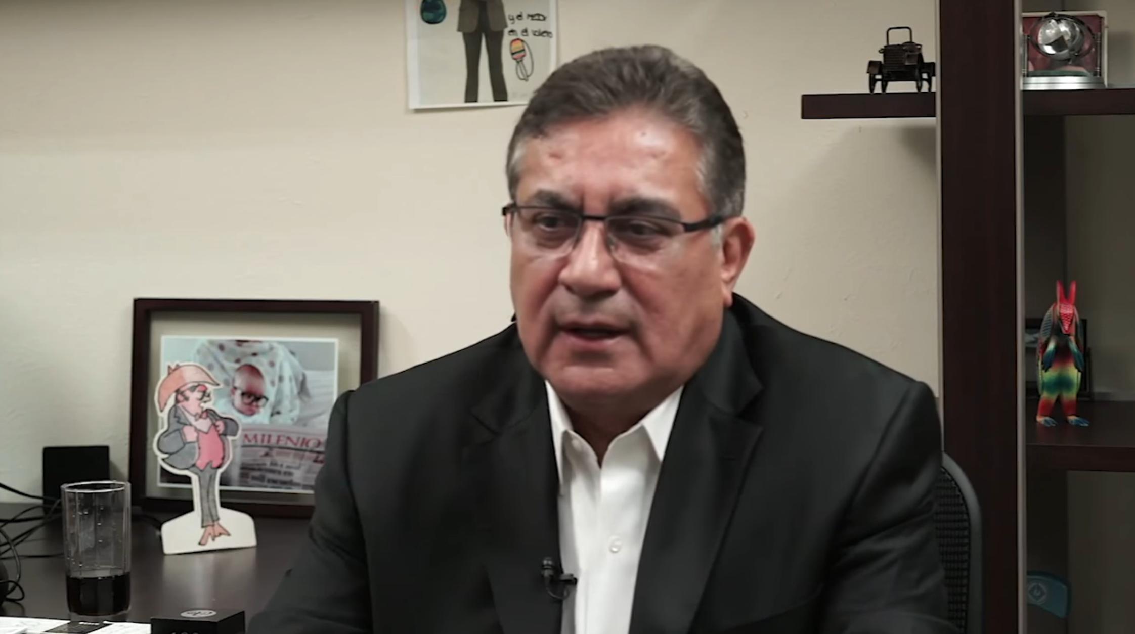 Entrevista al Mtro. Alfonso Cepeda Salas en Milenio TV