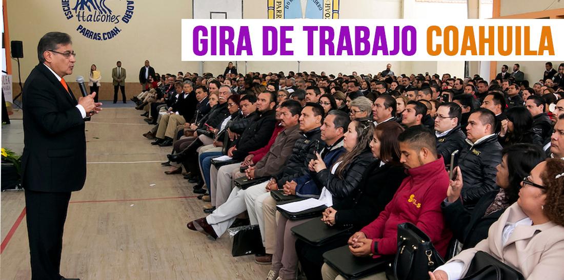 El SNTE representa a la inmensa mayoría de los trabajadores de la educación