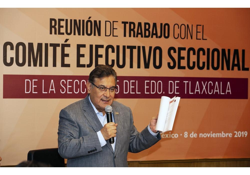 SNTE avanza en la ruta de un sindicalismo reivindicativo, democrático y transparente