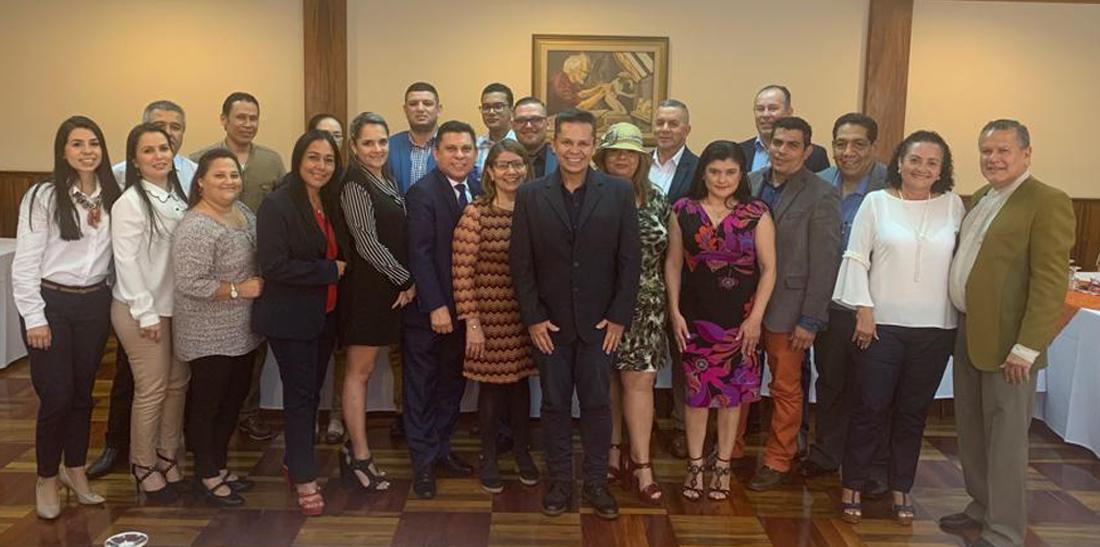 El SNTE intercambia experiencias con sindicatos magisteriales de Costa Rica