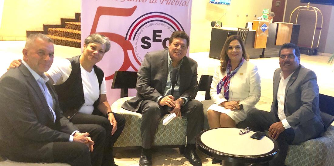 Participa el SNTE en encuentro pedagógico costarricense