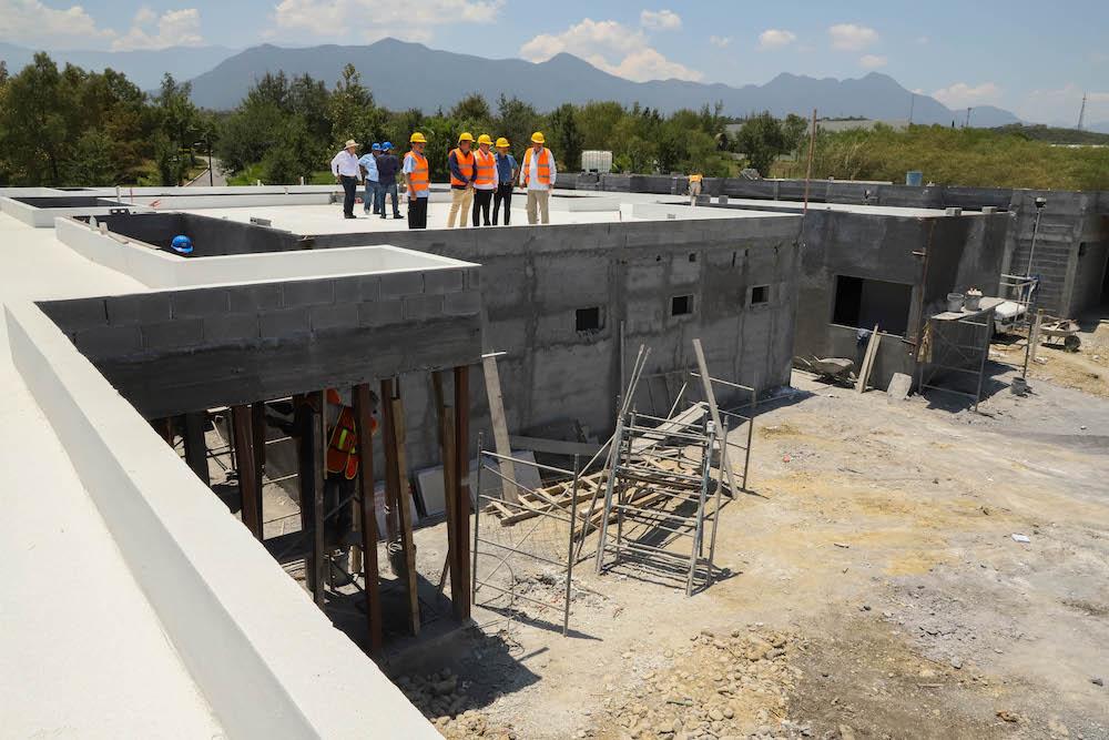 Registra avance de 80 por ciento el Centro Maestro de Bienestar en Nuevo León
