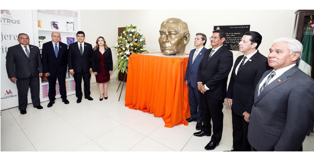 El SNTE honra el legado de Benito Juárez
