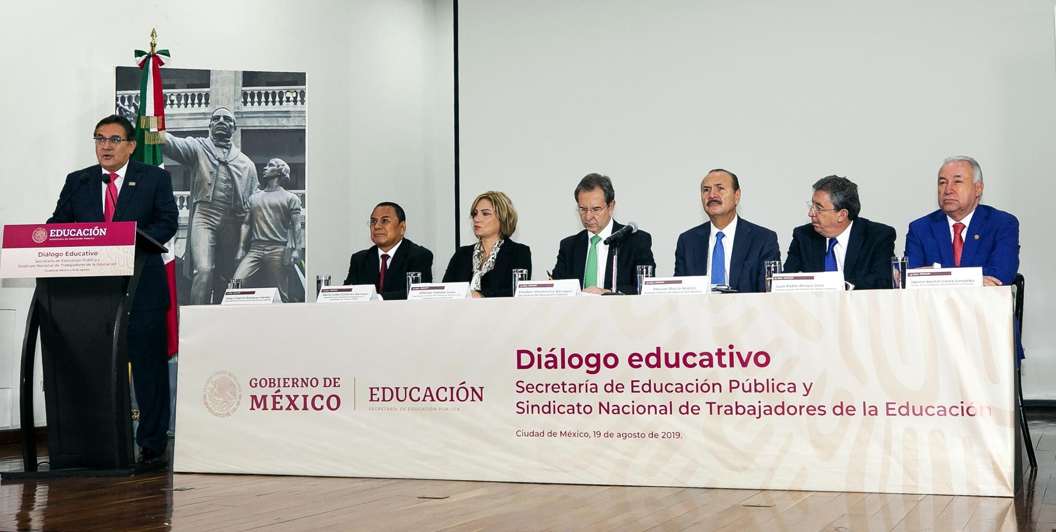 La fuerza del SNTE, necesaria en la Nueva Escuela Mexicana