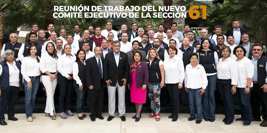 La dirigencia nacional del SNTE y los nuevos Comités Seccionales fortalecen la unidad del gremio