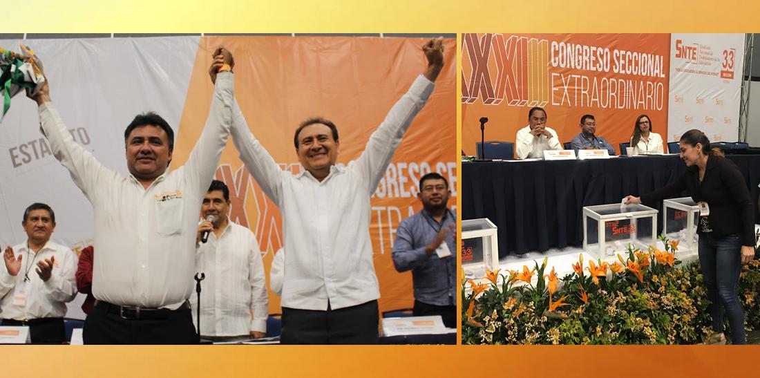 Triunfa la unidad, democracia y transparencia en el SNTE