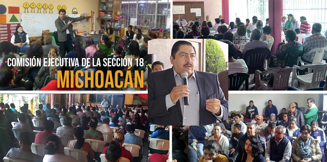 El SNTE mantiene negociaciones para que se liquiden los pagos pendientes a agremiados de Michoacán