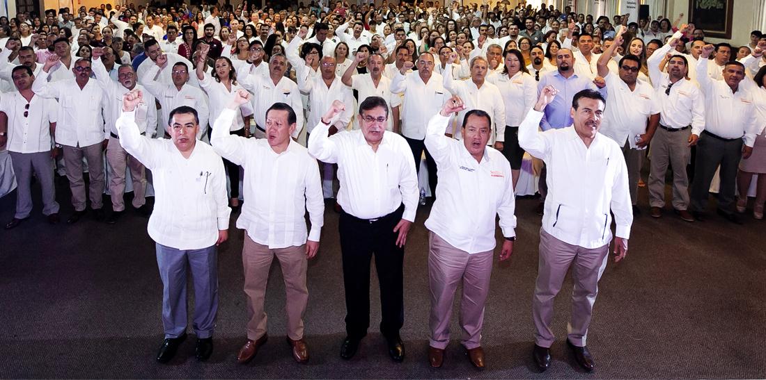 El SNTE se une a las voces que exigen respeto para México