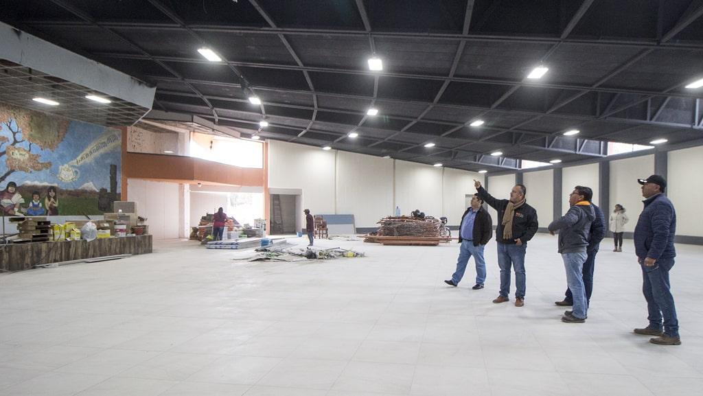 Profesor Alejo Rivera Ávila supervisa avances en remodelación del Centro de Convenciones y explanada del Parque Tangamanga 1