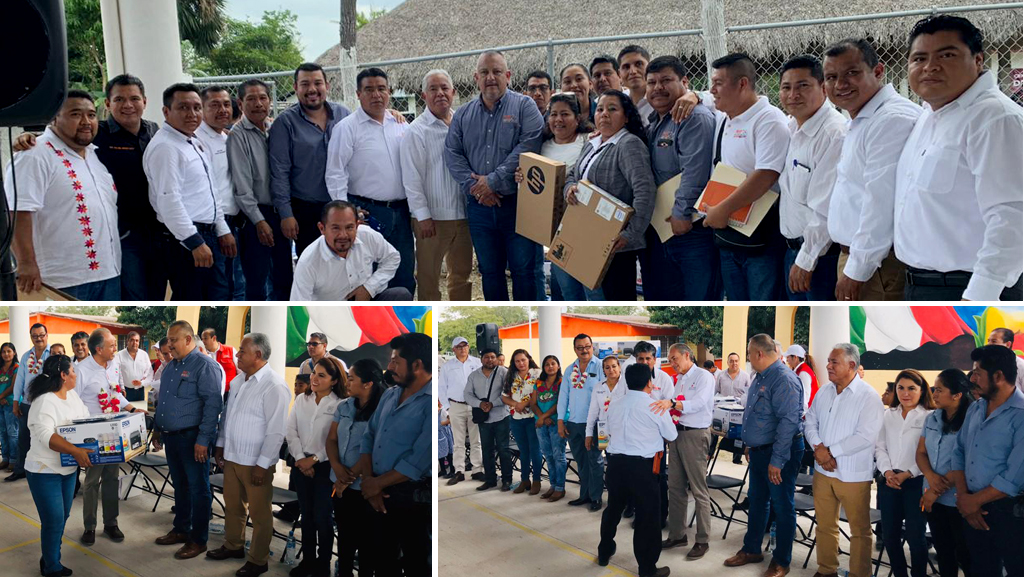 Líder gremial realiza Gira de Trabajo en conjunto con el Gobernador del Estado