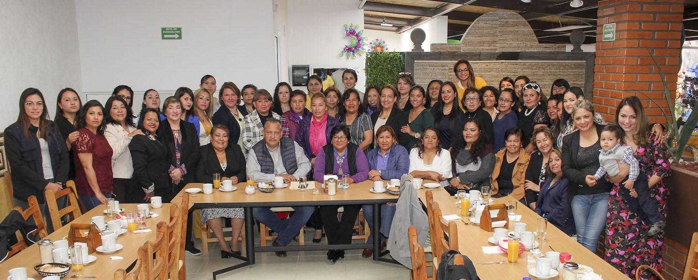Día Internacional de la Mujer con mujeres del CES de la Secc. 26.