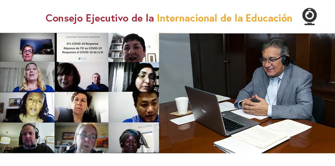 El SNTE y maestros del mundo intensifican acciones para garantizar el derecho de niños y jóvenes a la educación, ante la pandemia
