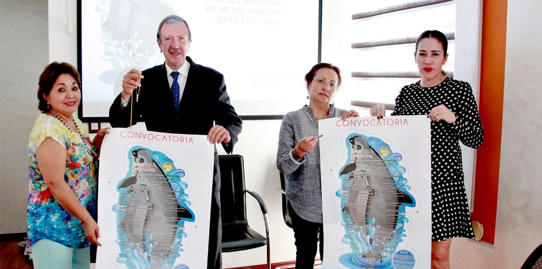 El SNTE instala jurado de la presea nacional de medio ambiente 2017