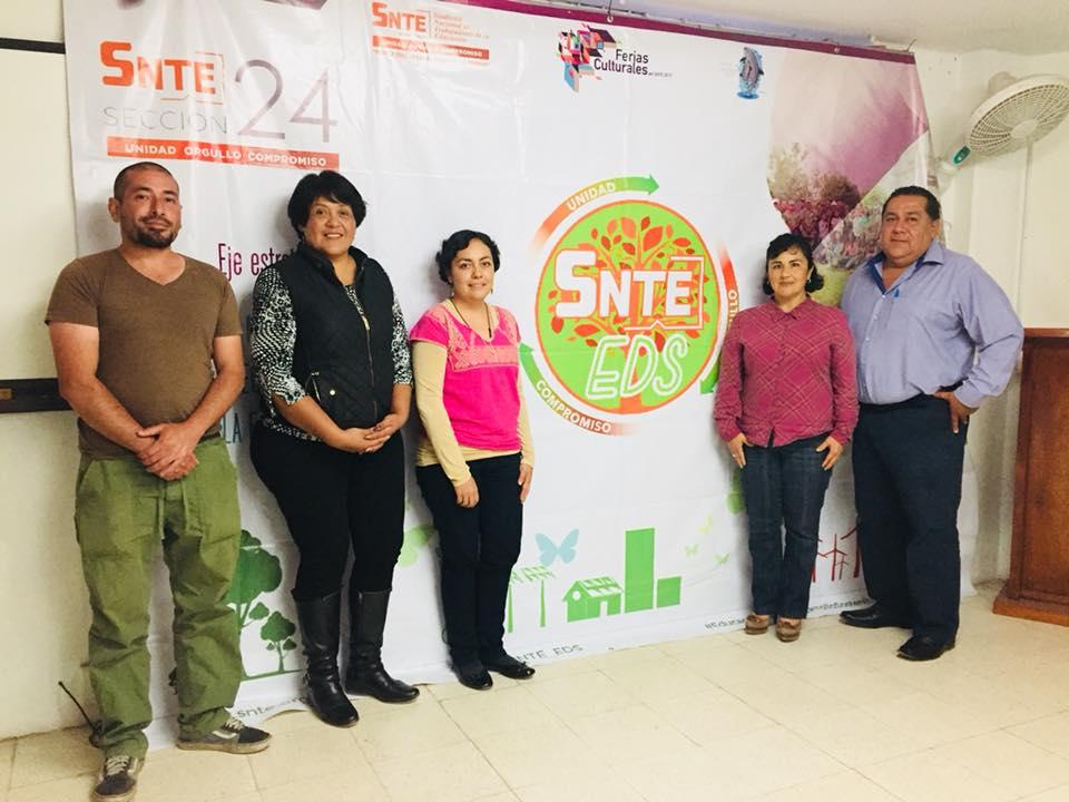 Sección 24 valora proyectos rumbo a la presea SNTE-EDS