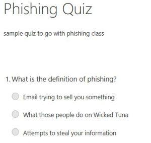 example phishing quiz questions