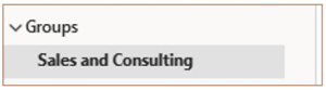 Creating a Group Calendar Without SharePoint Online group name