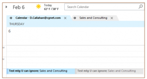 Creating a Group Calendar Without SharePoint Online personal group cal