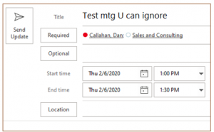 Creating a Group Calendar Without SharePoint Online group cal appt