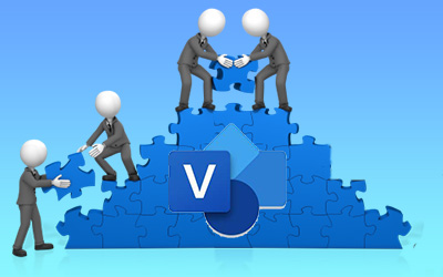 How to Co-Author Visio Diagrams