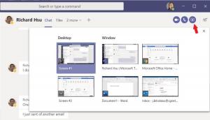 Screen sharing example
