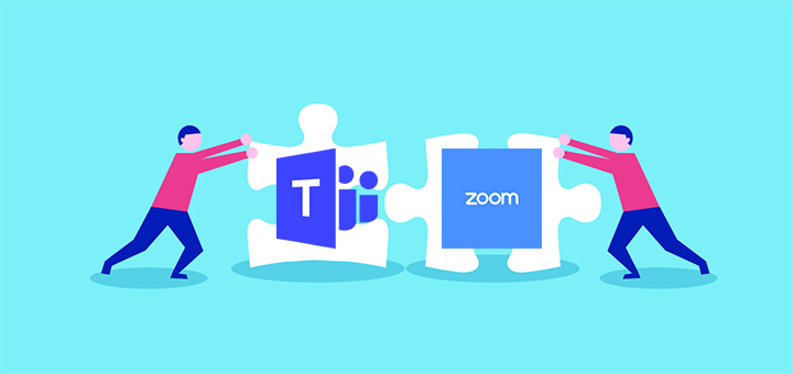 Options for Using Zoom and Teams Together