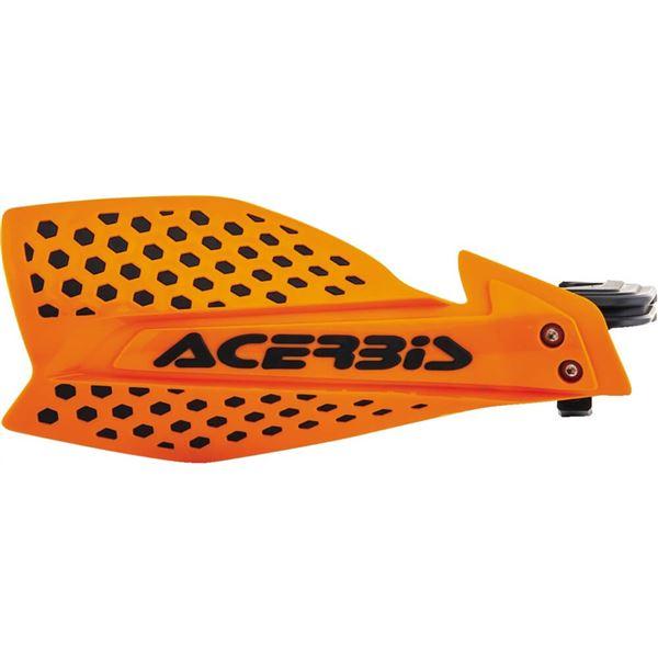 ACERBIS X ULTIMATE HAND GUARD MX MOTOCROSS ENDURO UNIVERSAL FITTING WHITE BLACK