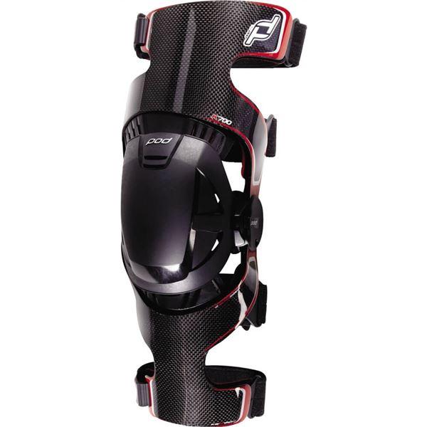 POD K700 Knee Brace MX Offroad Pad Set Red