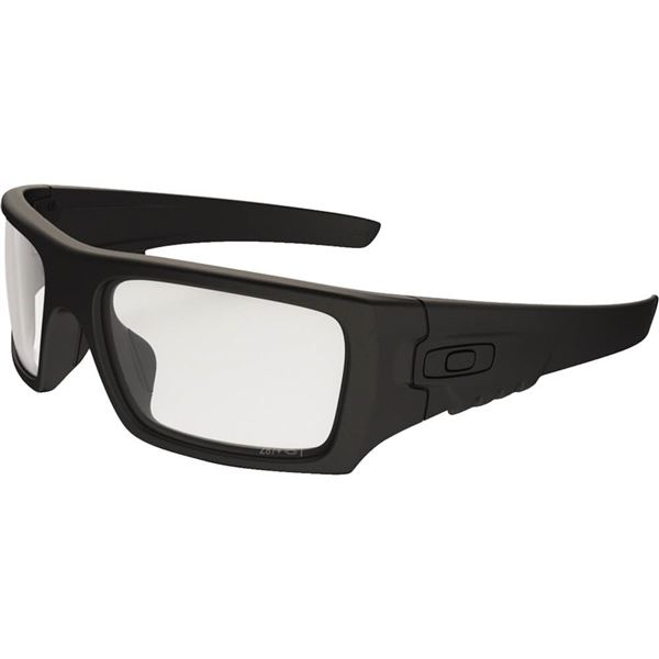 25a0f58511 Matte Black/Clear Oakley Det Cord Industrial ANSI Z87.1 Stamped Sunglasses  Find Sunglasses at Chaparral Motorsports