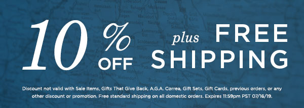 10% Off plus Free Shipping Sitewide