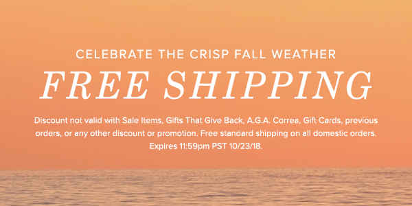 Free Ground Shipping Sitewide