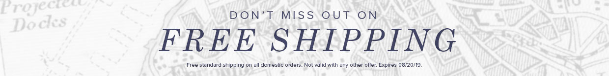 Get Free shipping now until 8/20