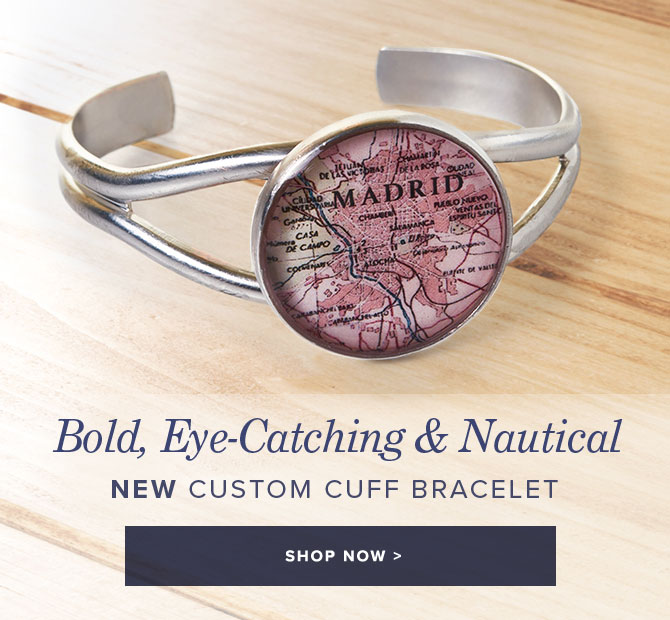 New Custom Cuff Bracelet