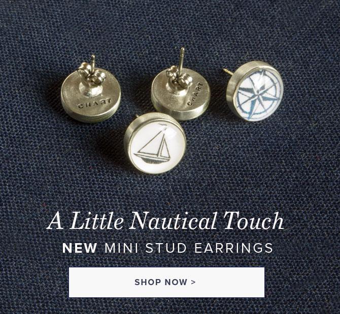 NEW Nautical Stud Earrings